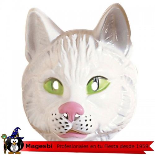 Careta Gato Plastico