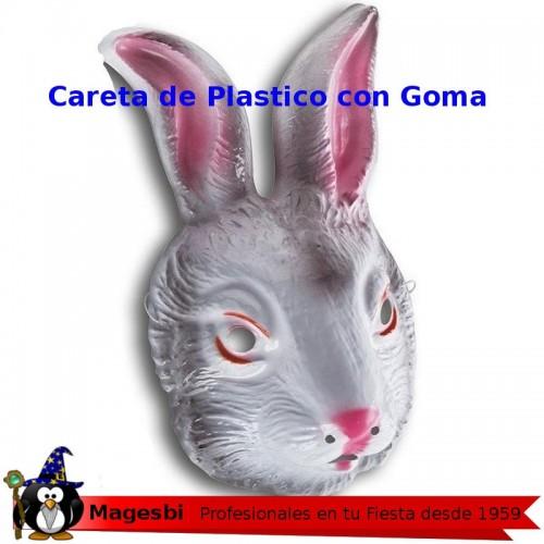 Careta Conejo Plastico