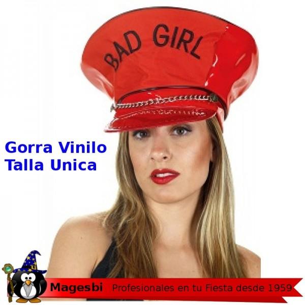 be29f70b5fc9 Gorra Roja Vinilo Bad Girl