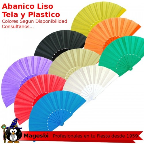 Abanico Liso Colores