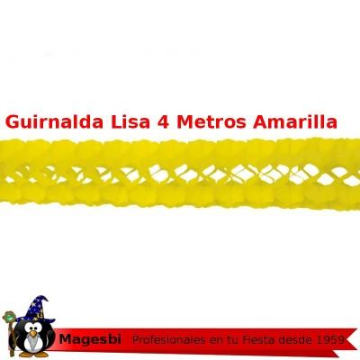 Guirnalda Amarillo 4 Metros