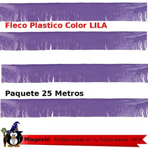 Fleco Plastico Lila 25m.