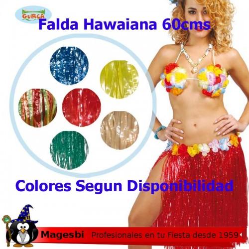 'Falda Hawaiana 60cm Colores Surtidos'
