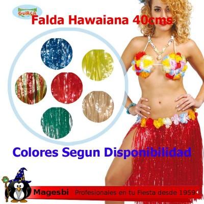 'Falda Hawaiana 40cm Colores Surtidos'