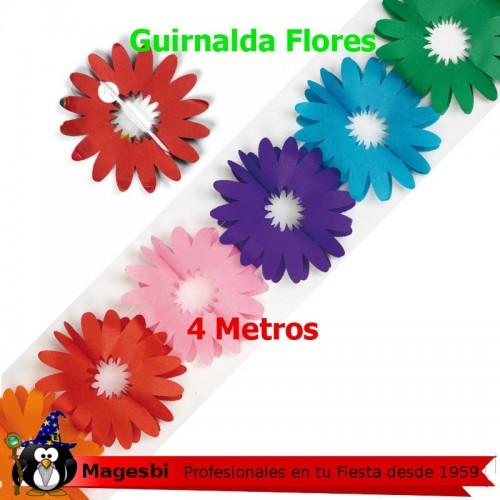 Guirnalda Flores 4 Metros